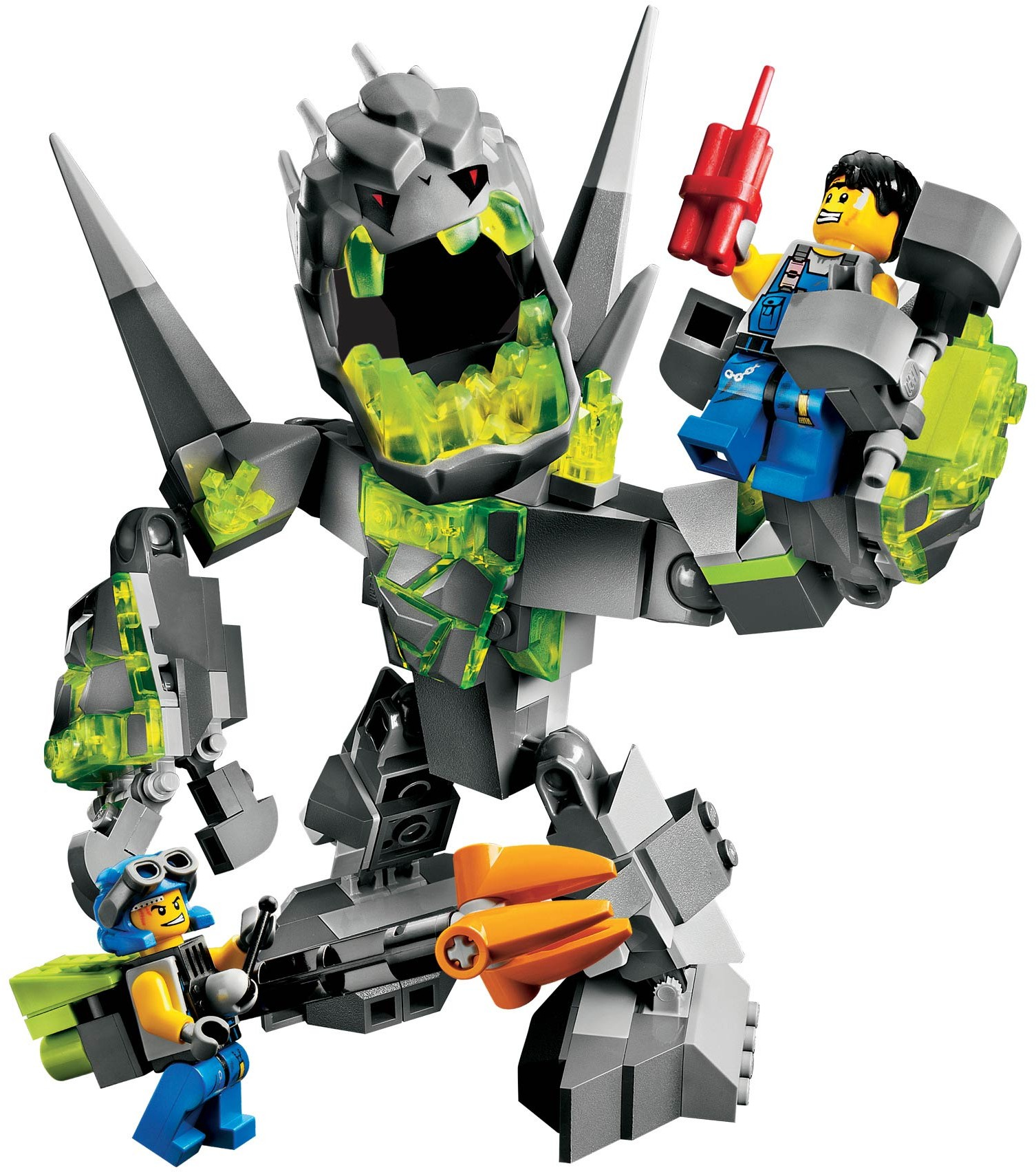 lego power miners crystal king