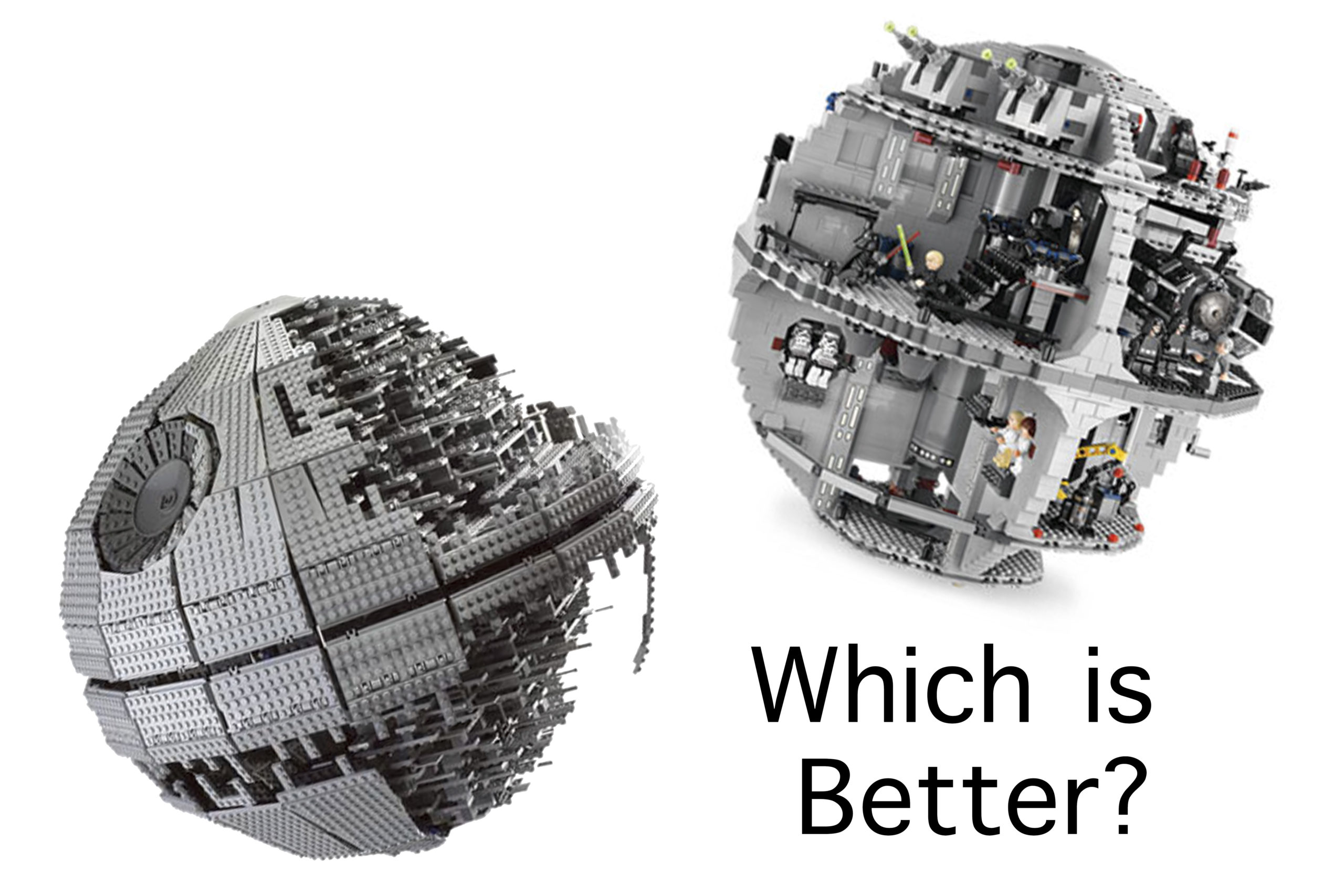 LEGO Death Star - which one is better?