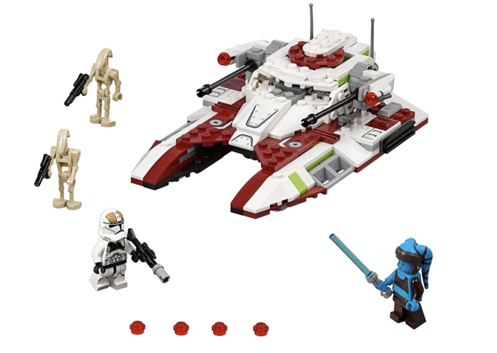 LEGO Republic Fighter Tank Set