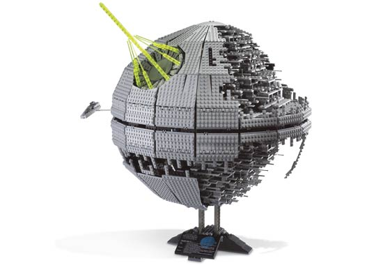 lego star wars ucs death star exterior