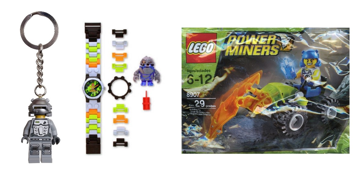 lego power miners extras