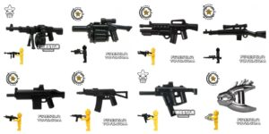 Top 15 Brickarms Weapons to Upgrade Your Army