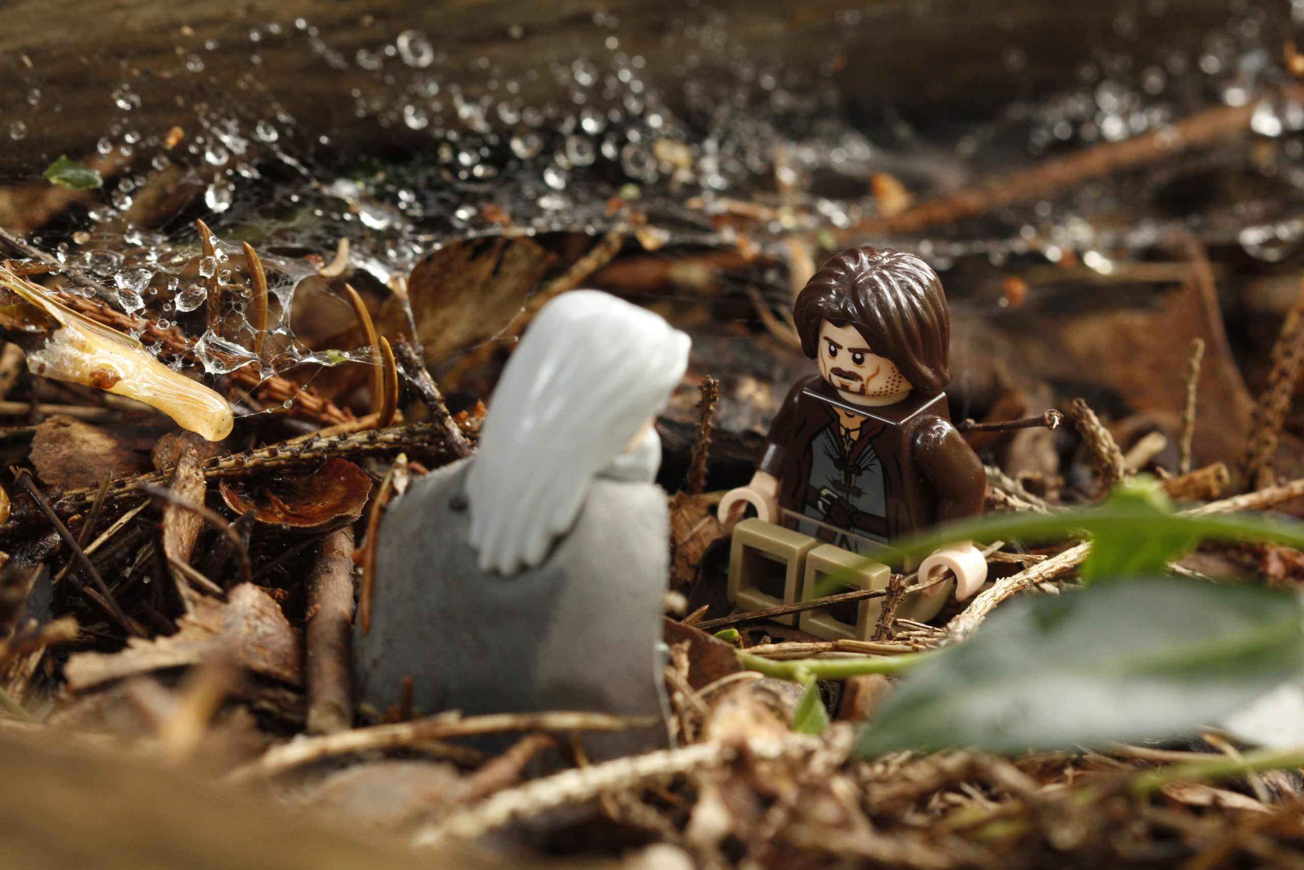 lego inspiring creativity: a scene from Lord of the Rings