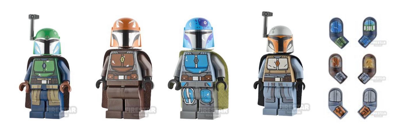 lego mandalorian figures