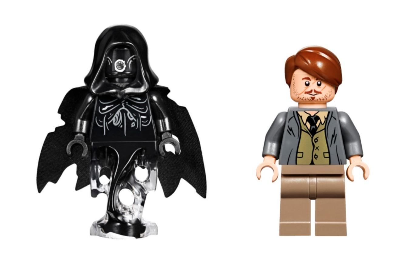 lego hogwarts express minifigures