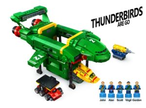 LEGO Thunderbirds Are Go… Or Are They?