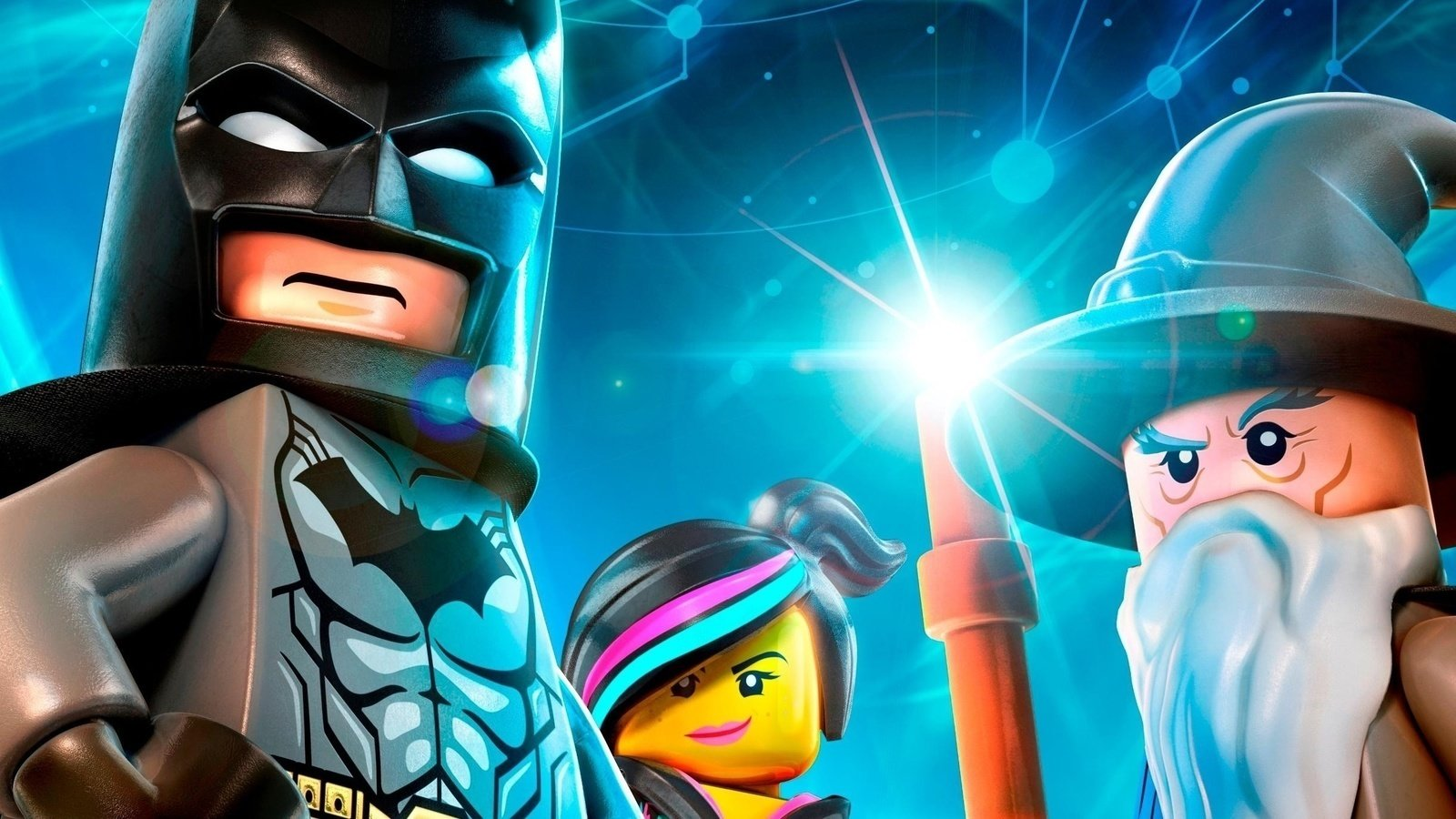 LEGO Batman, Wildstyle and Gandalf Image