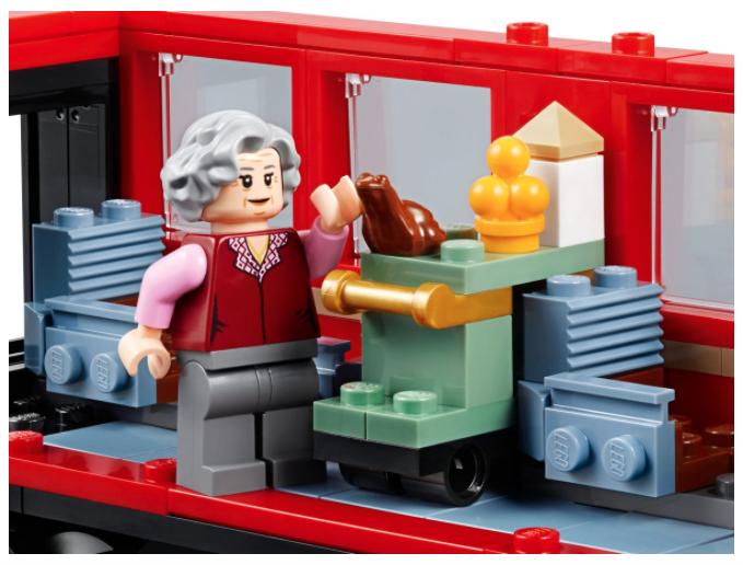 lego hogwarts express trolley witch