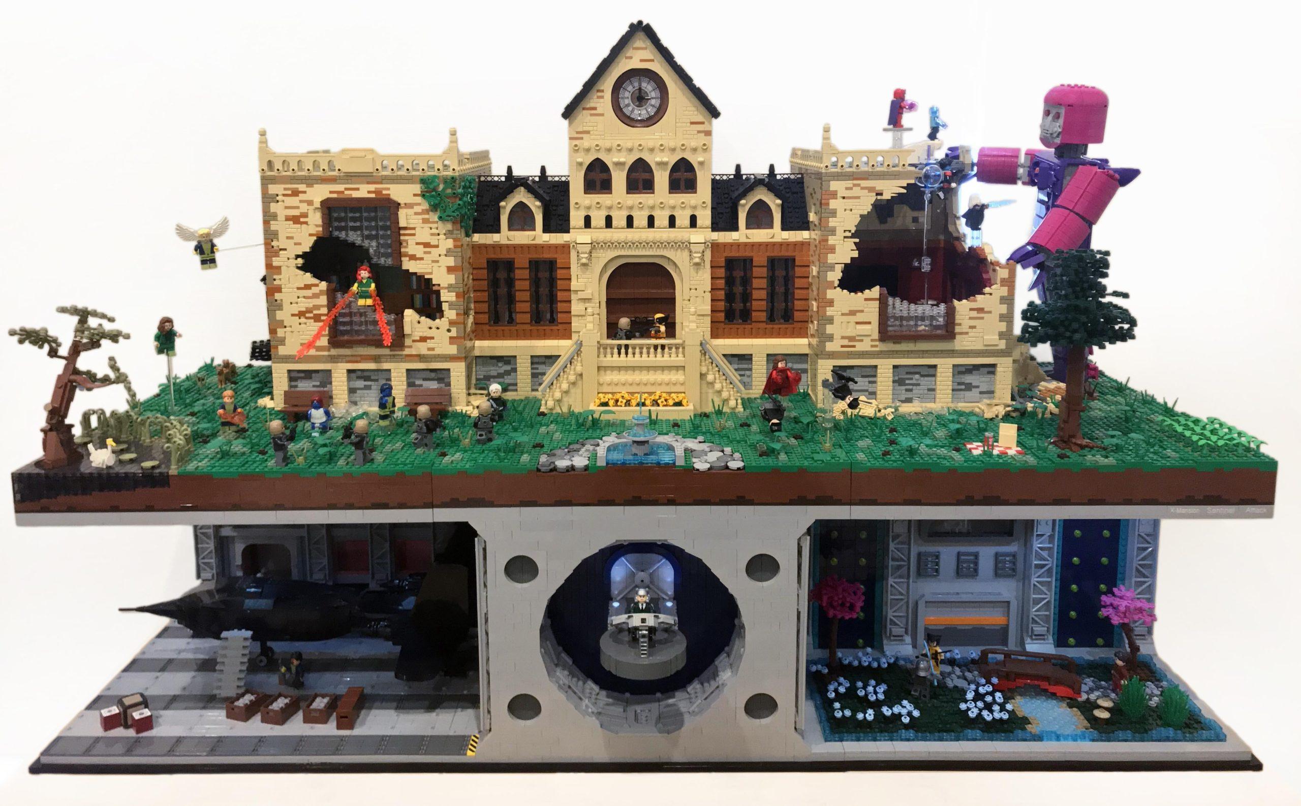 lego x-men mansion