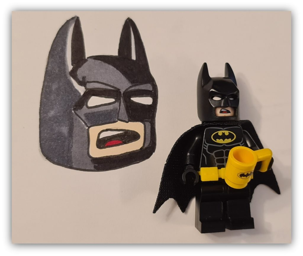 draw lego batman: colors