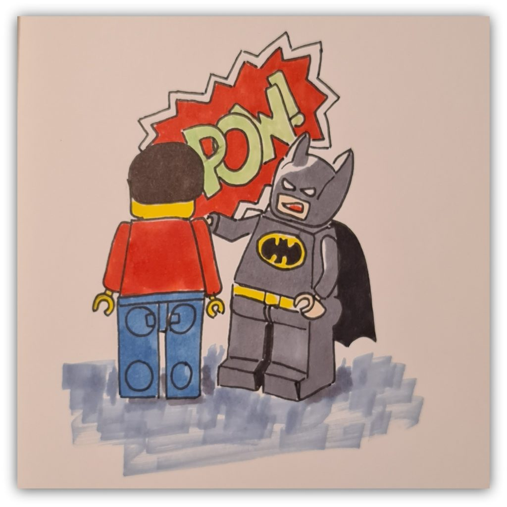 draw lego batman: alternatives