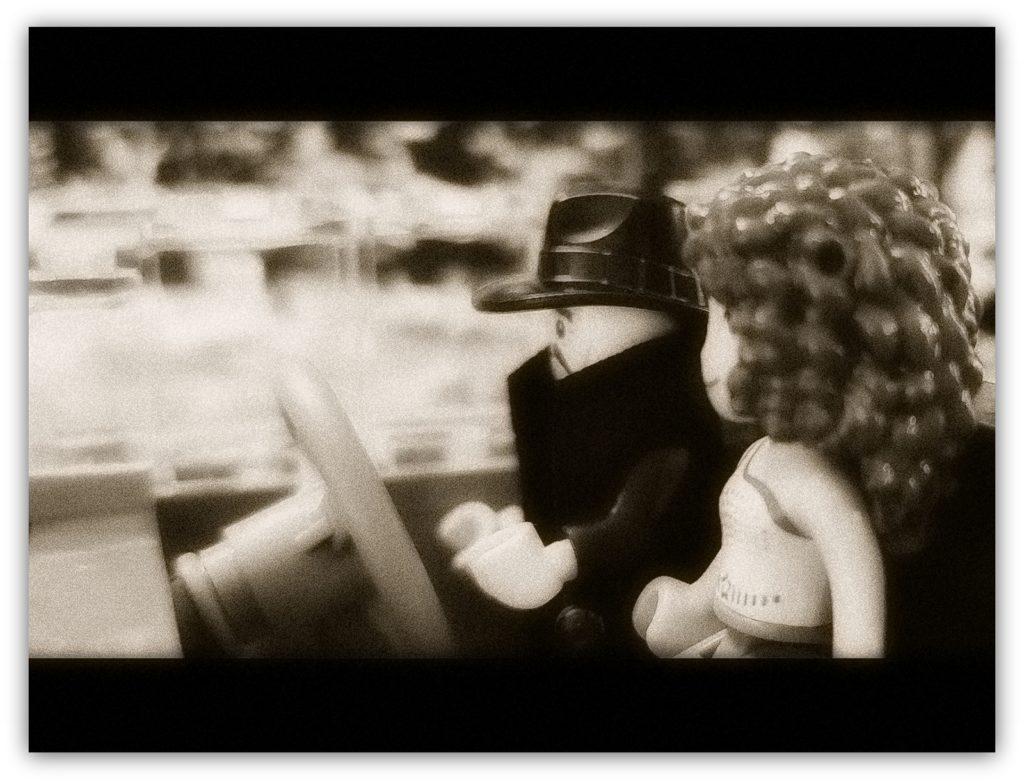 film noir detective the drive