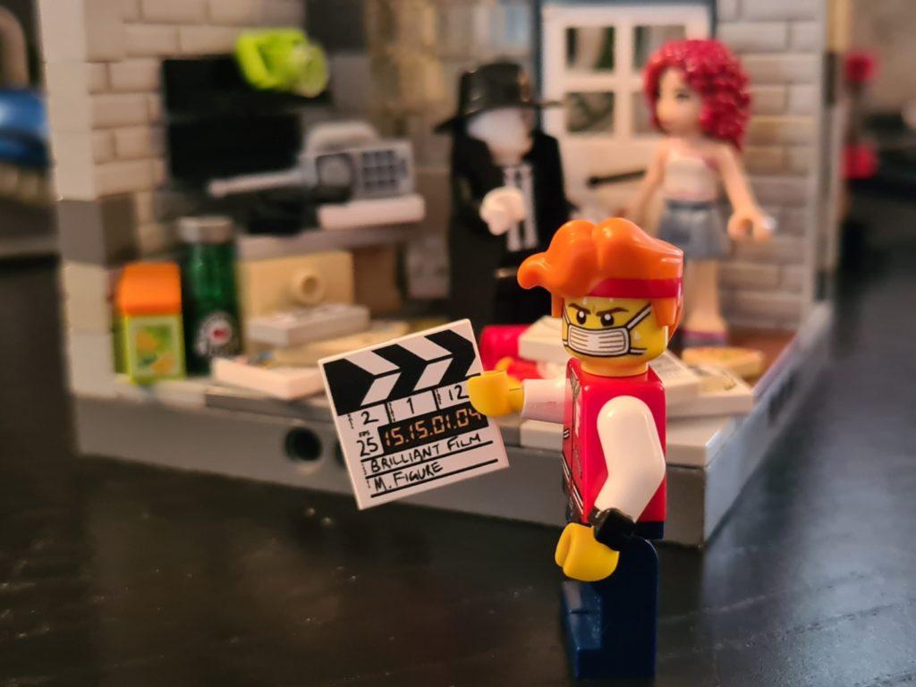 film noir detective setting