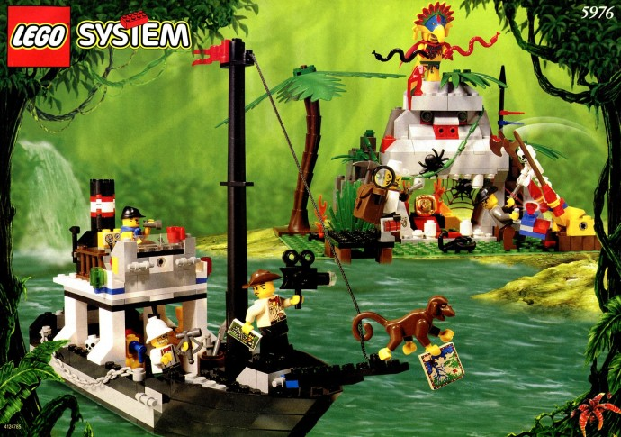 lego adventurers jungle