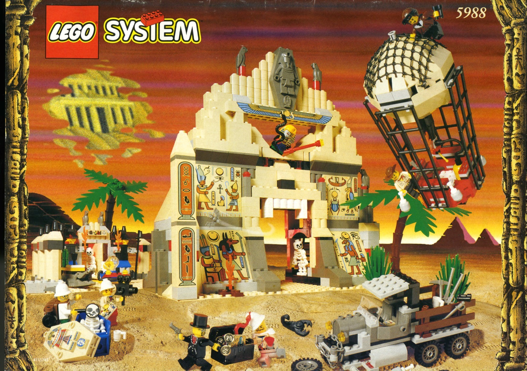 lego adventurers desert