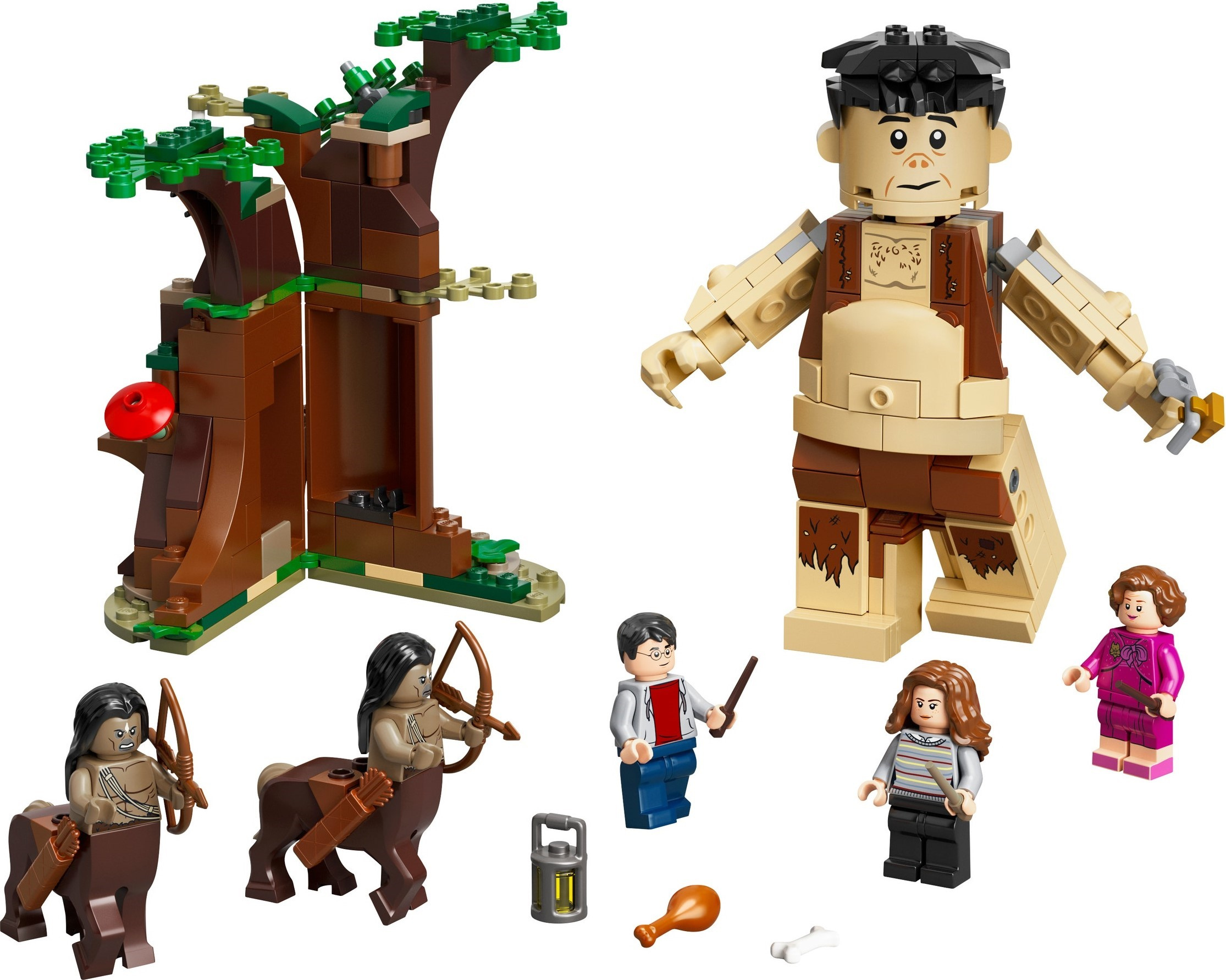lego harry potter forbidden forest