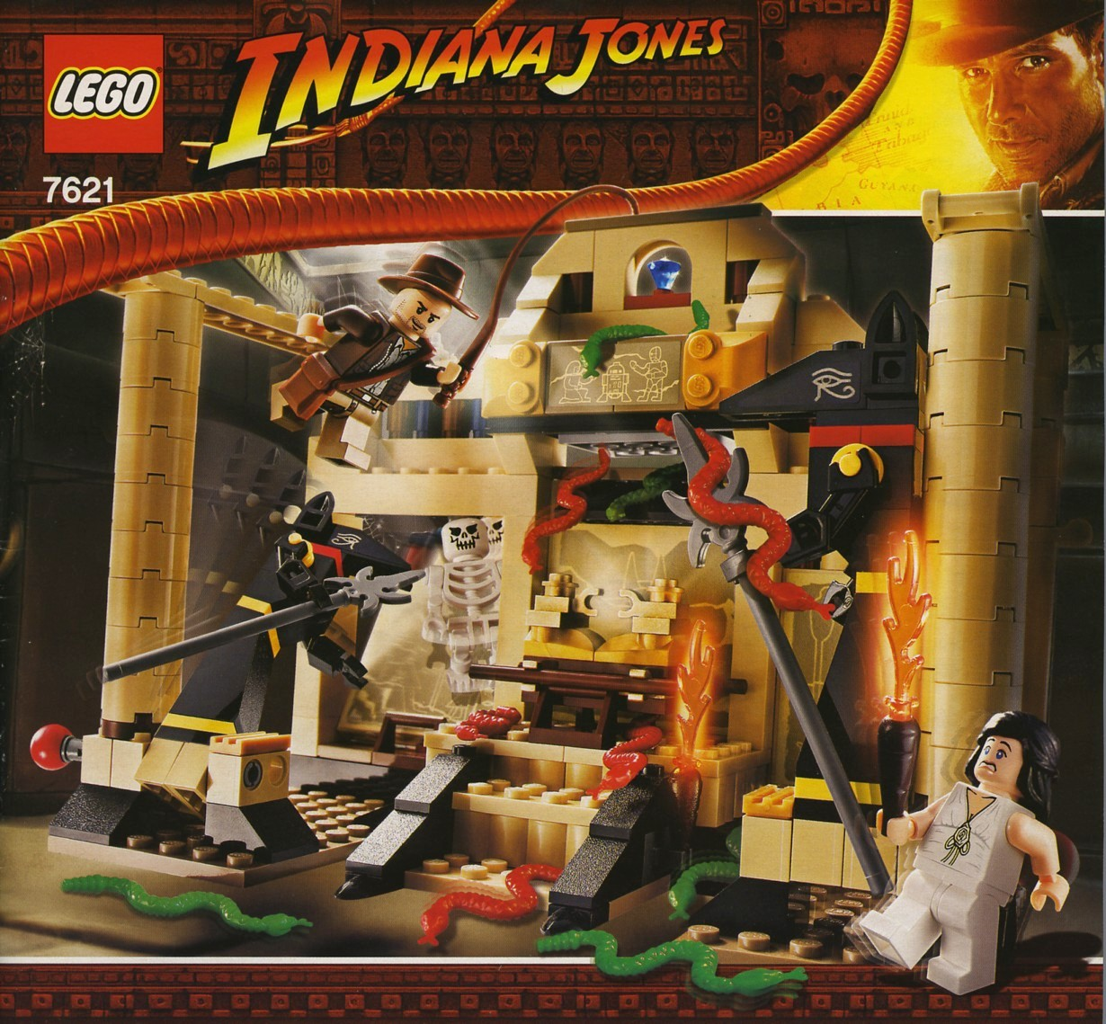 lego adventurers indiana jones