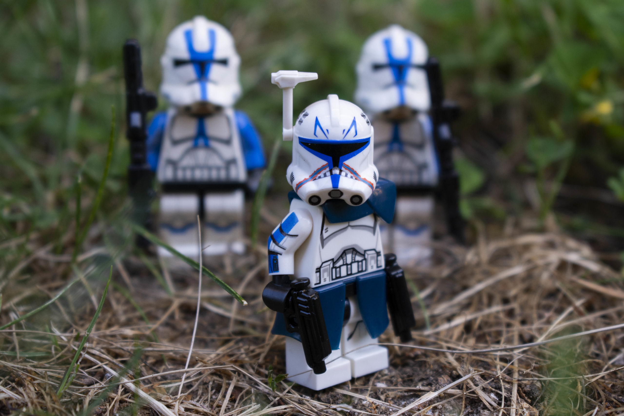 Clone Trooper Minifigure of Captain Rex and 501st Troopers