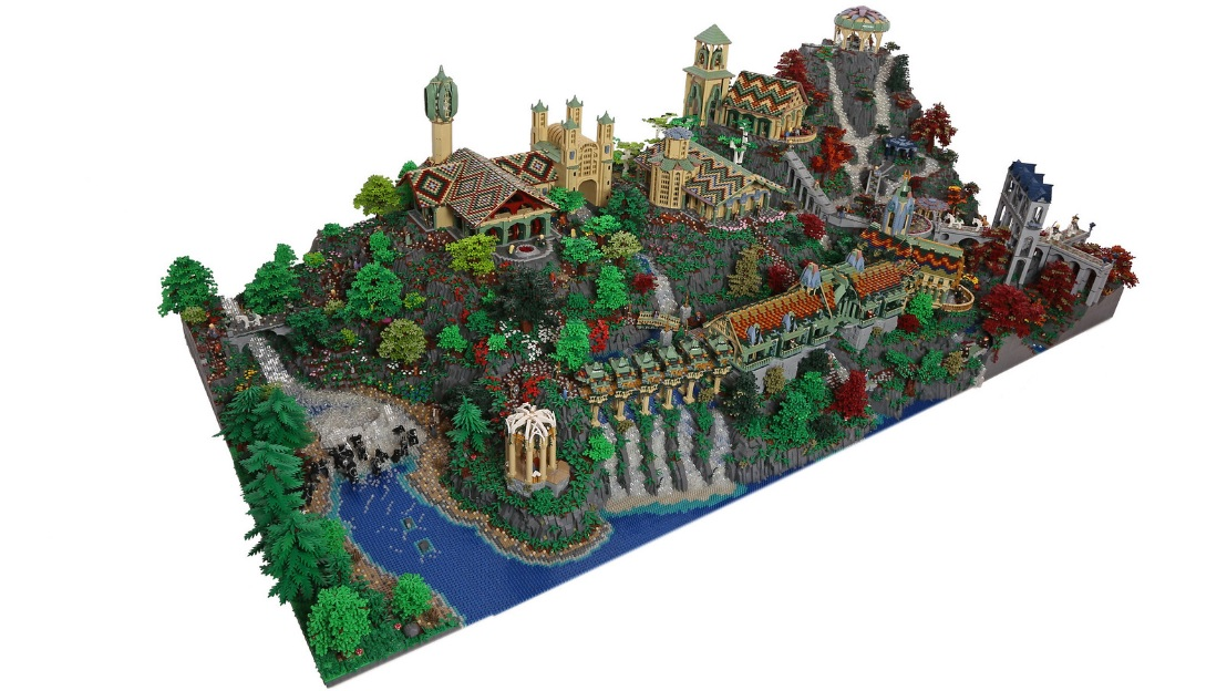 lego lord of the rings rivendell