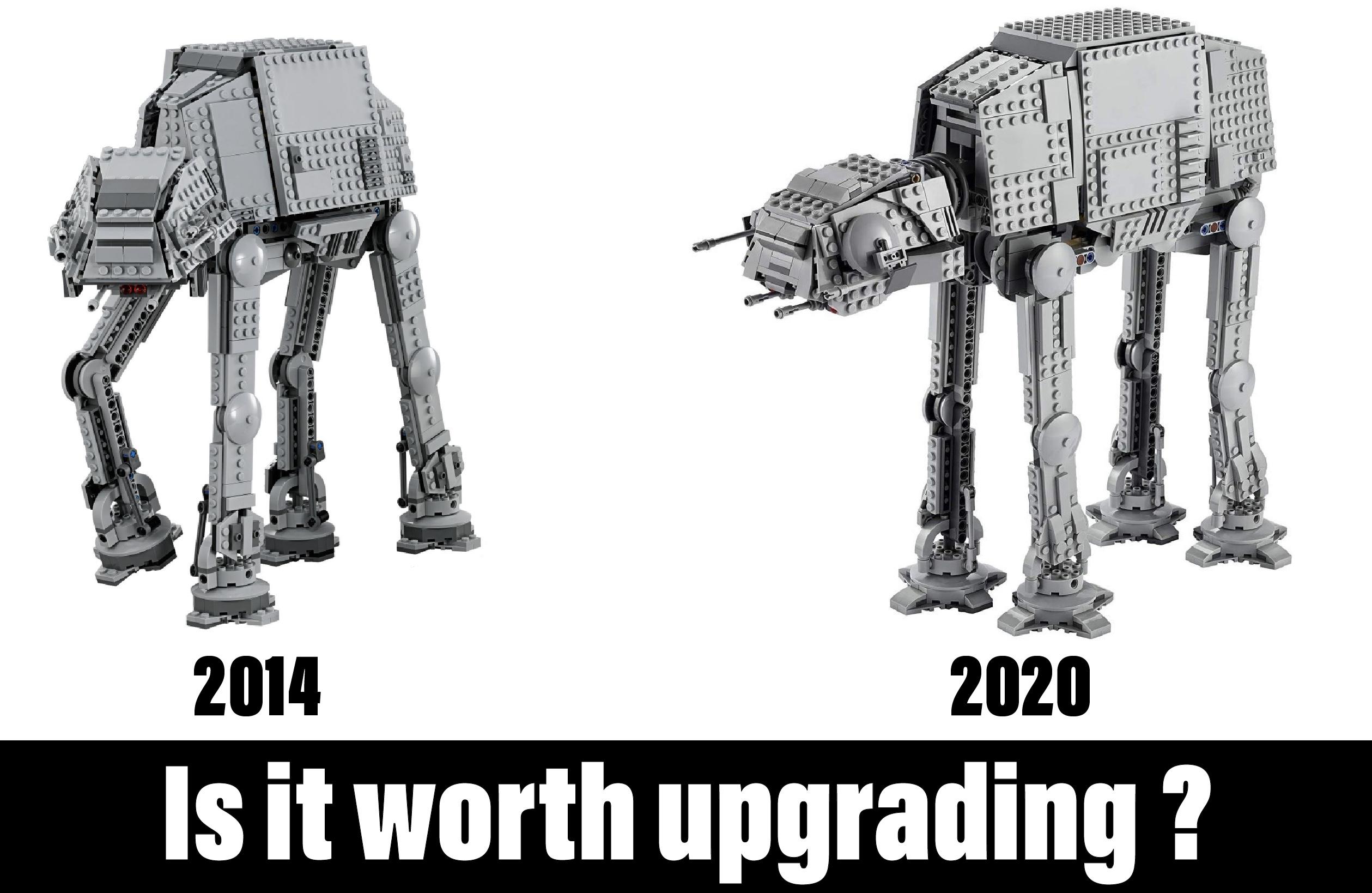lego collectors conundrums upgrades