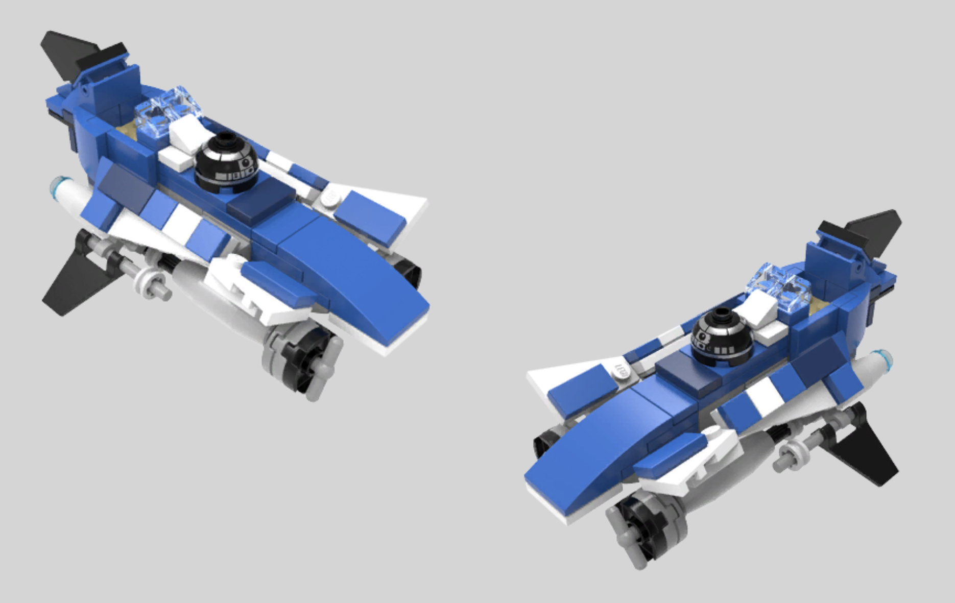 lego star wars microfighters azure angel