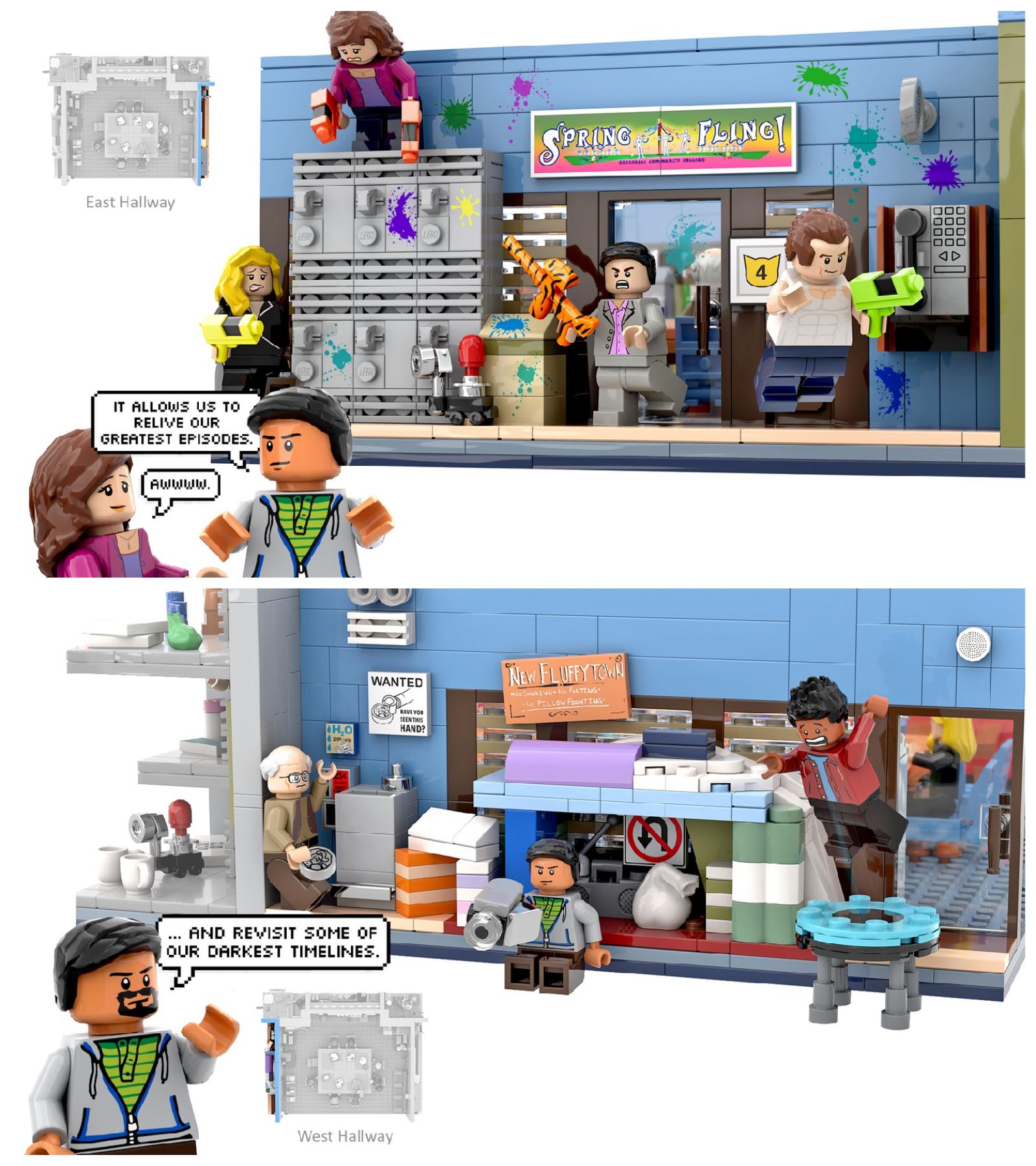 lego ideas community corridors