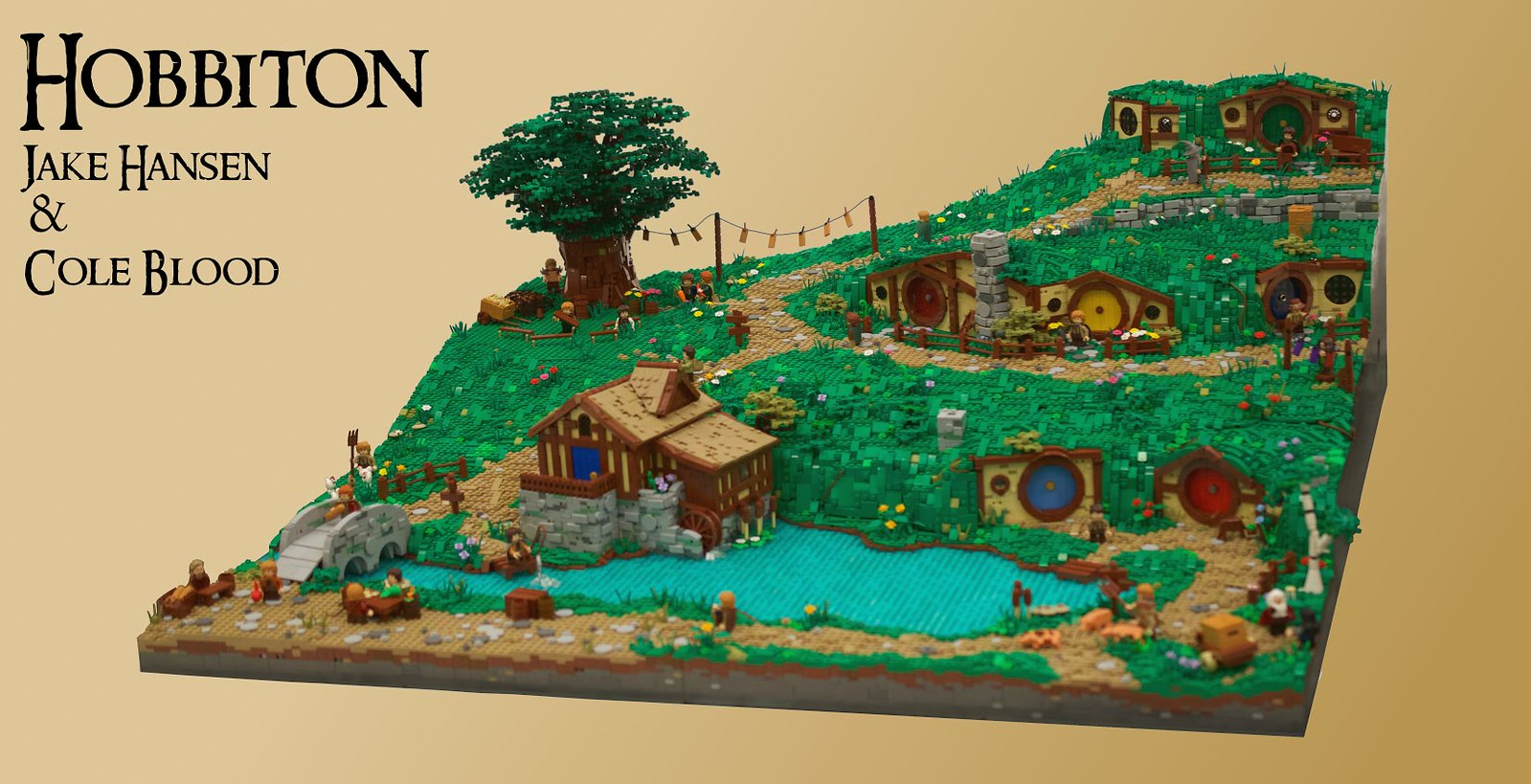 lego lord of the rings hobbiton