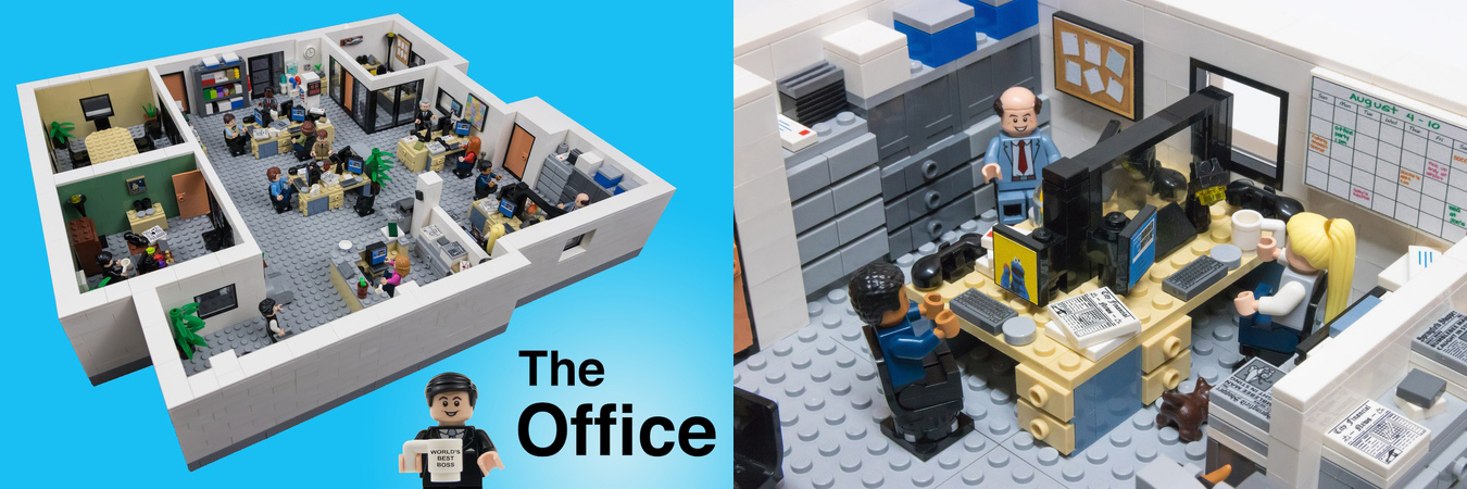 rejected lego ideas the office