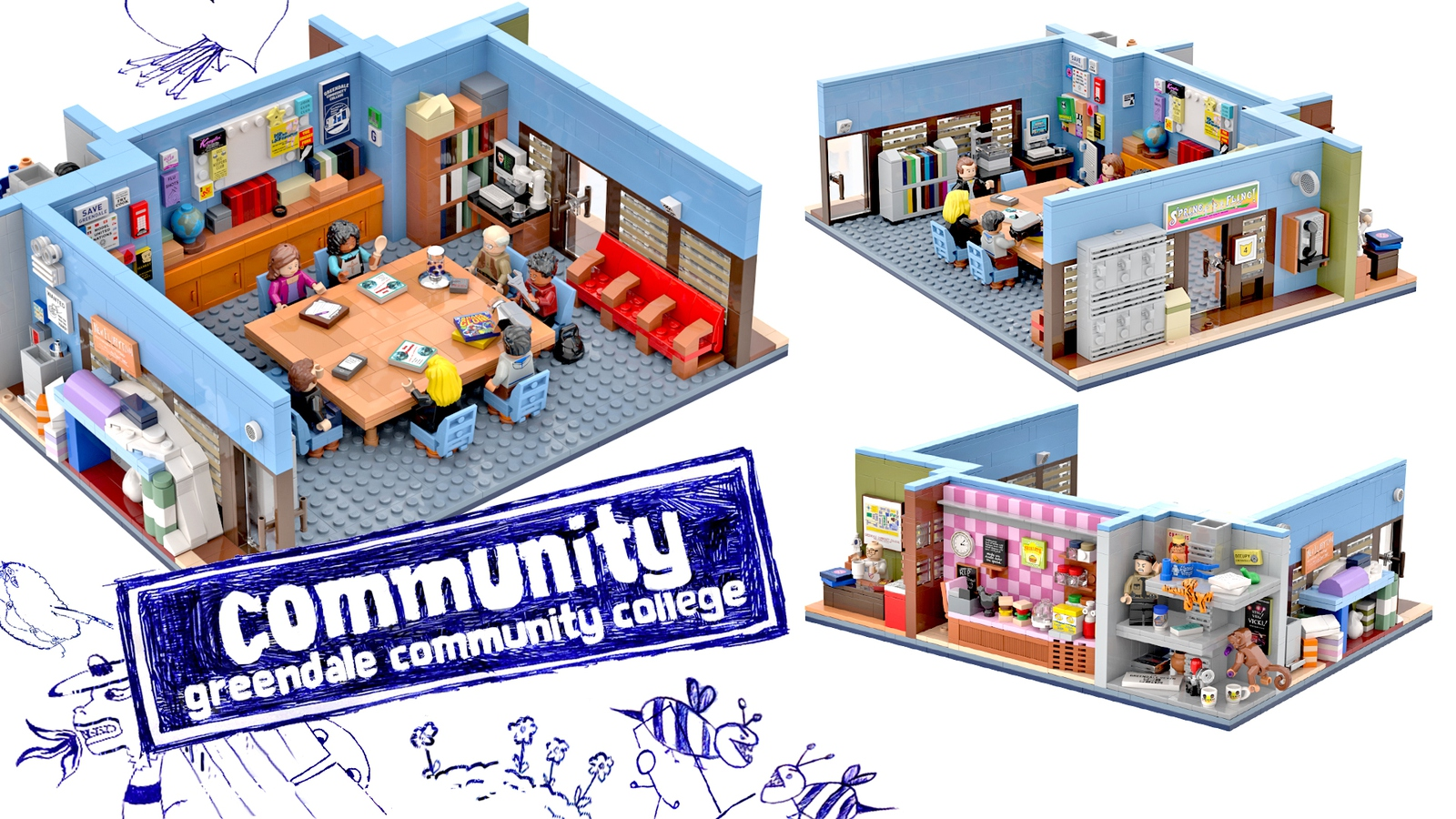 lego ideas community overall model