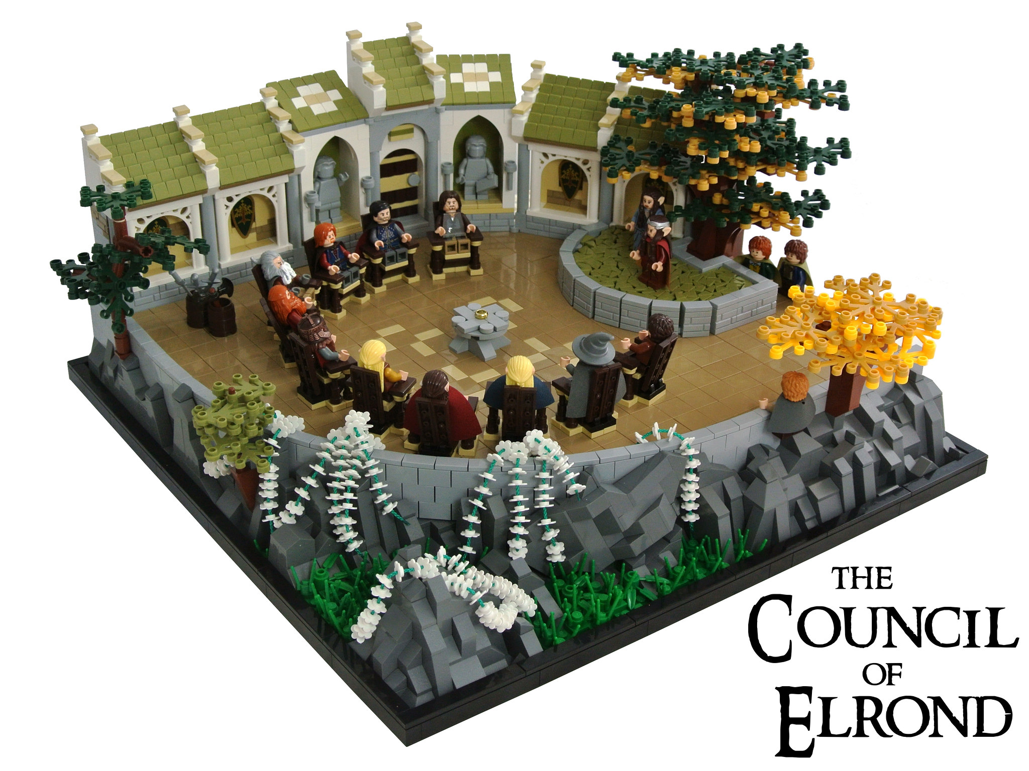 lego lord of the rings council of elrond