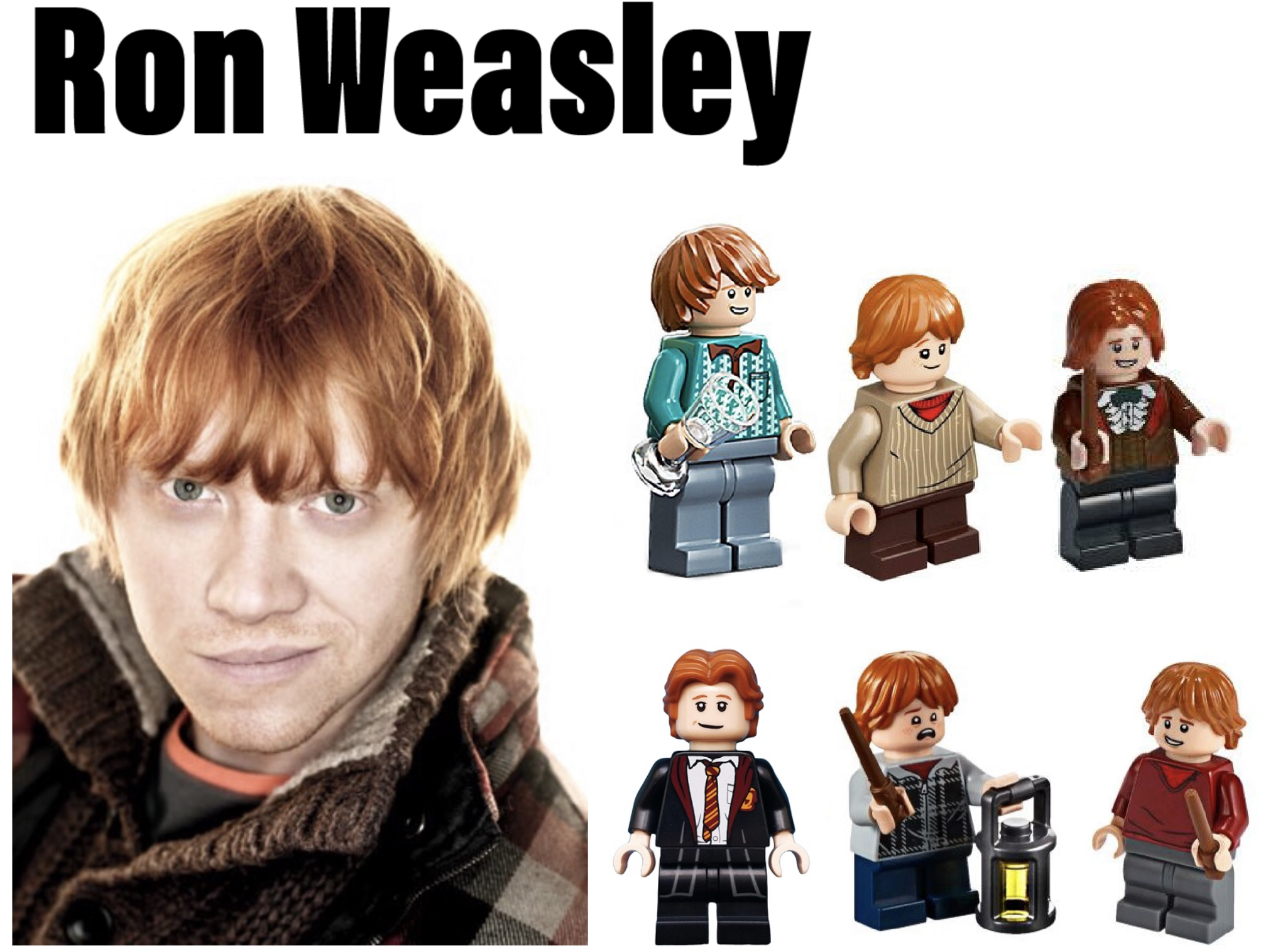 gryffindor minifigures ron weasley