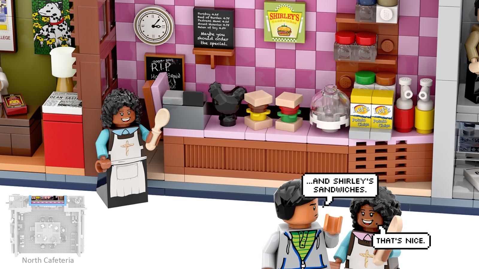lego ideas community shirley's sandwiches