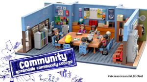 LEGO IDEAS: Will Greendale Community College Become a LEGO Set?