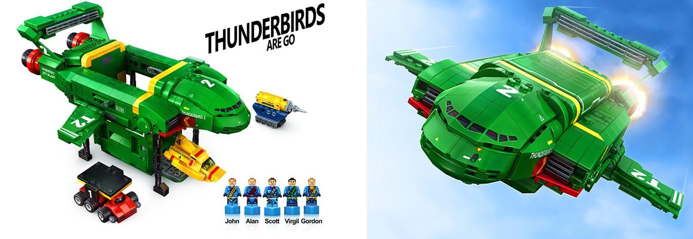 rejected lego ideas thunderbirds