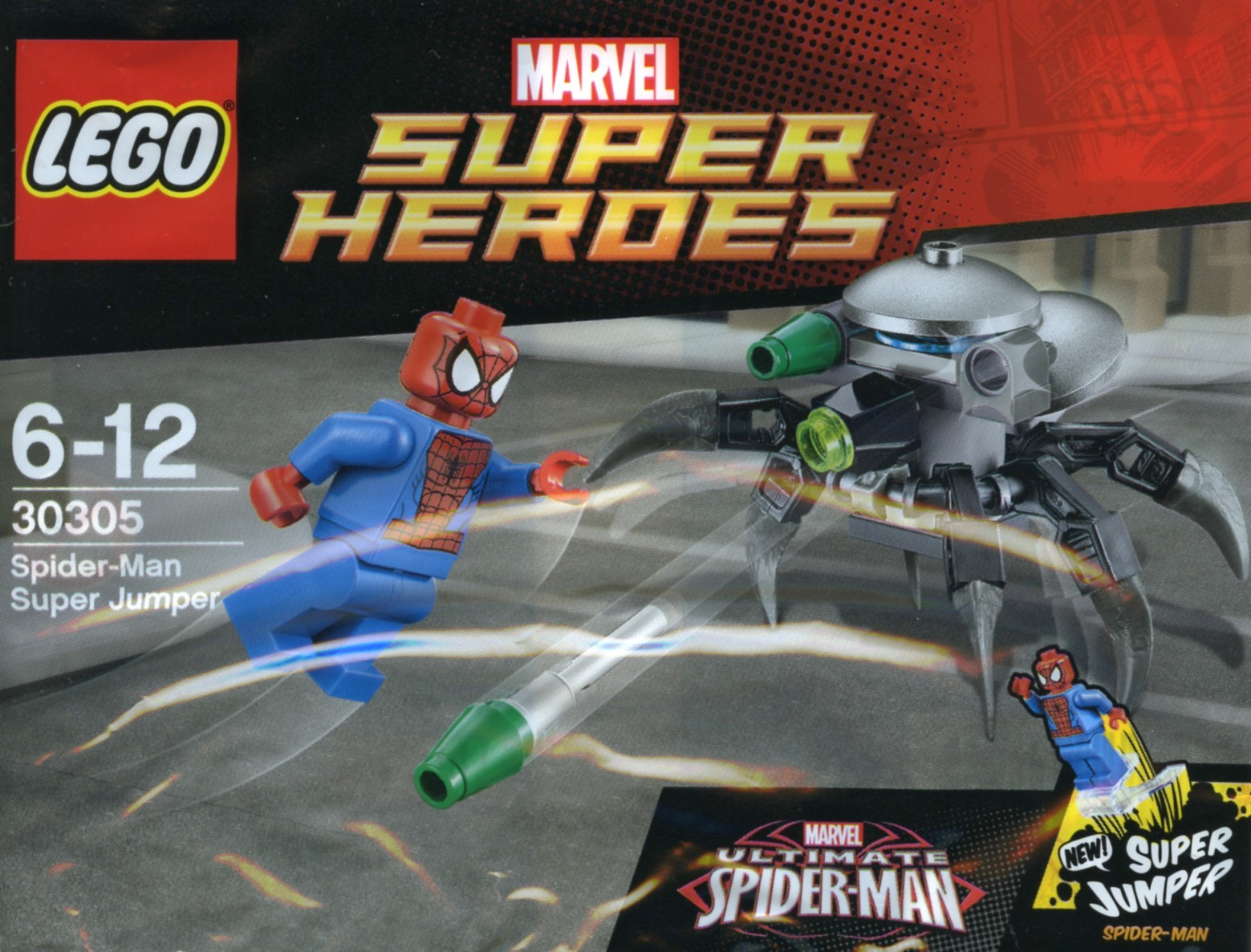 lego marvel 2015 spider-man super jumper