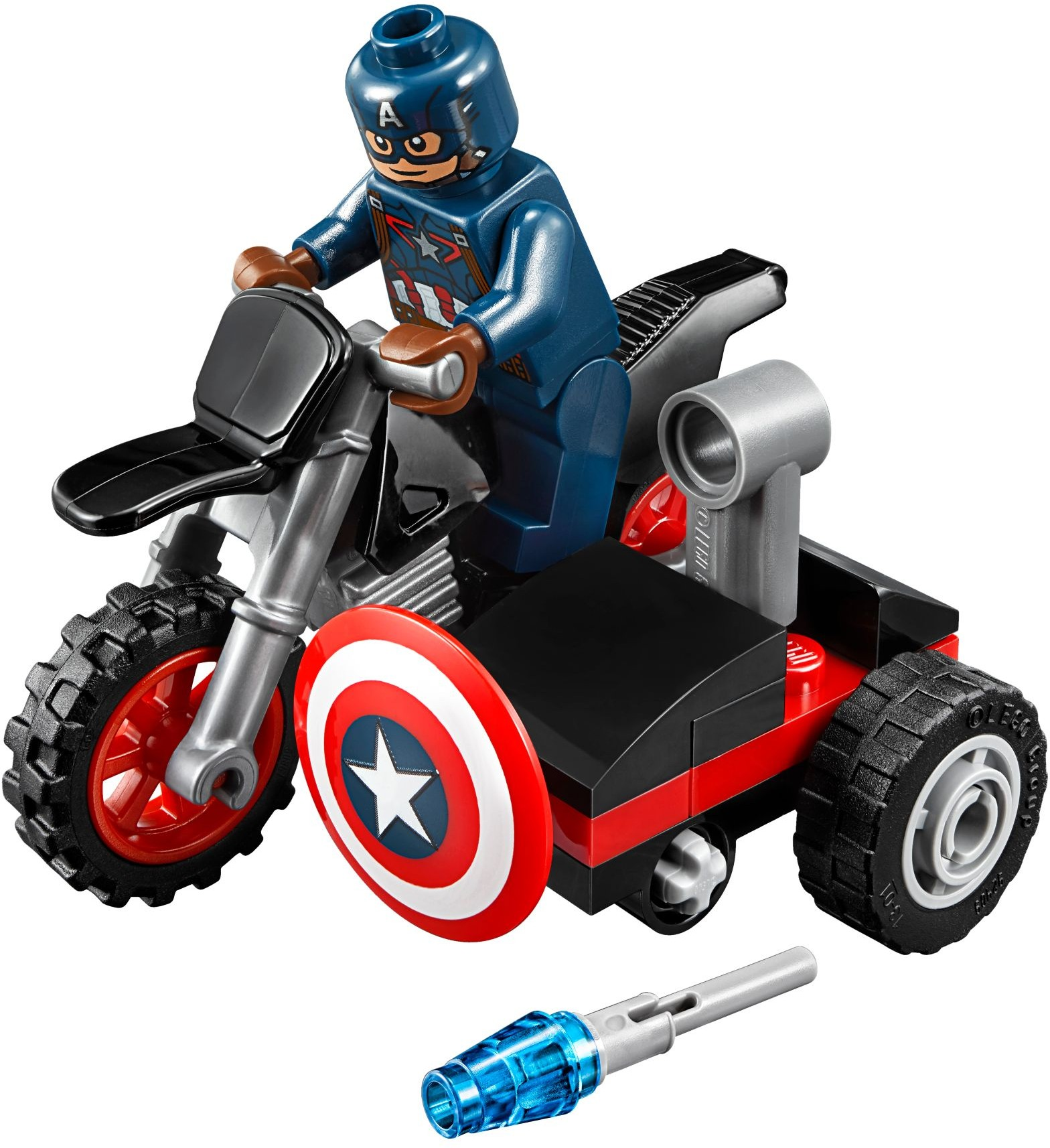 2016 lego marvel promotional captain america