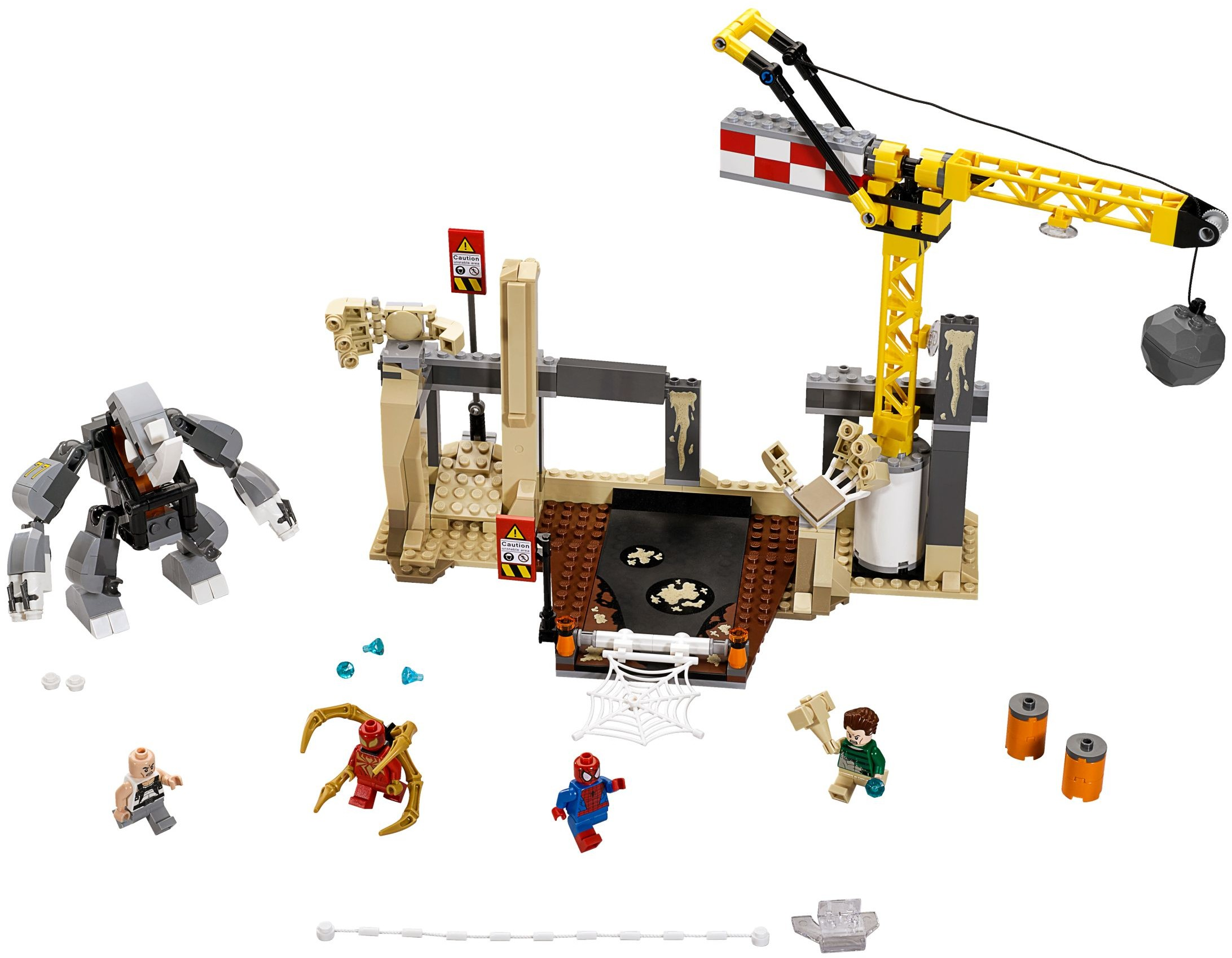 lego marvel 2015 rhino sandman team up