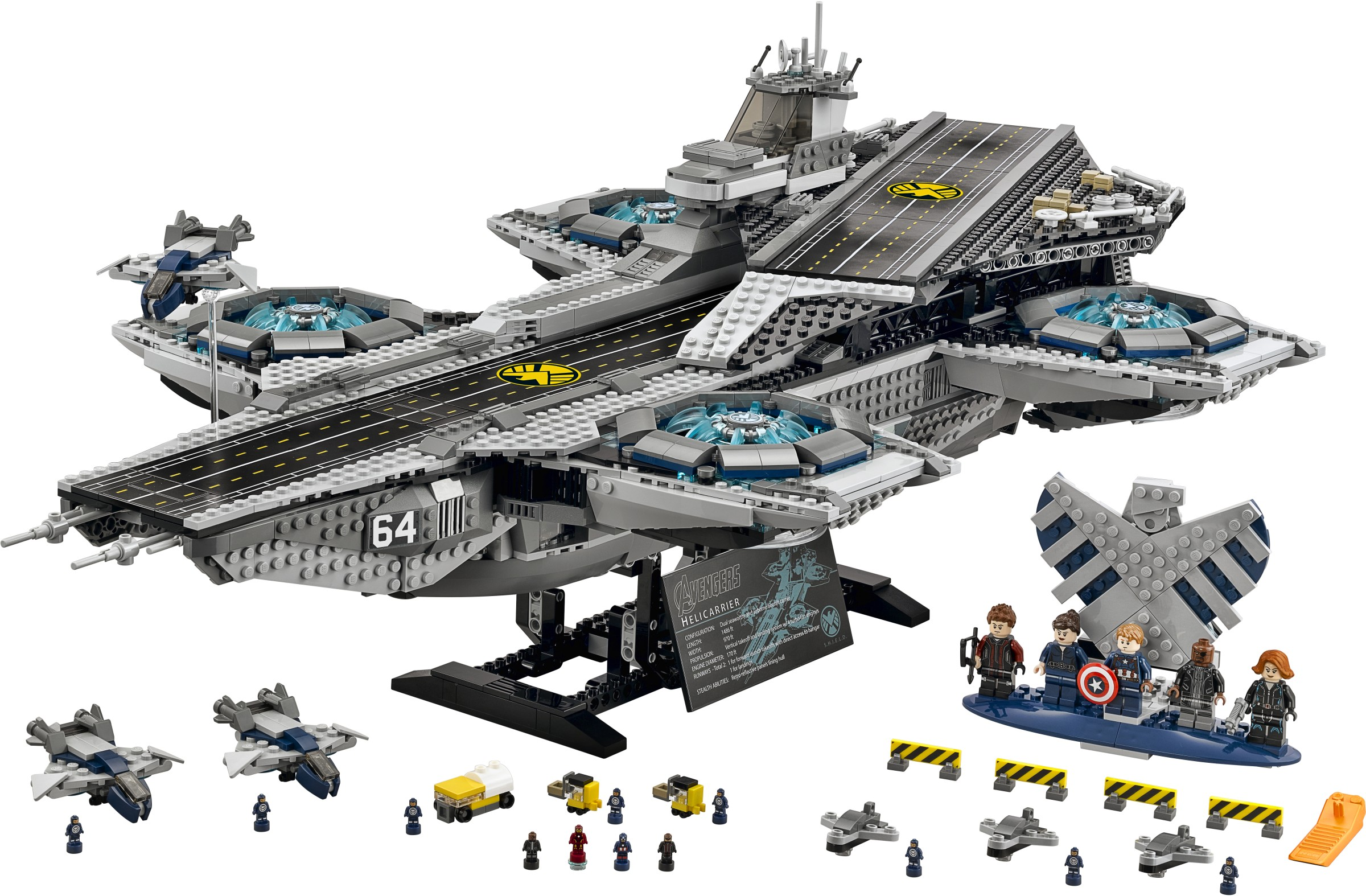 lego marvel 2015 shield helicarrier