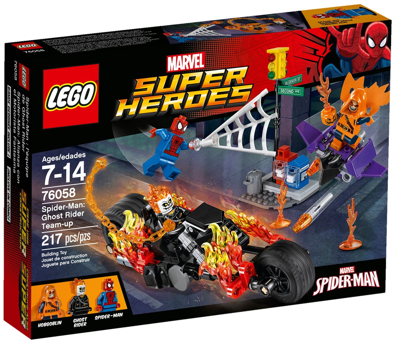 2016 lego marvel ghost rider team up