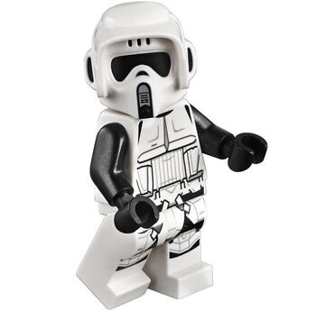 lego star wars busts scout trooper