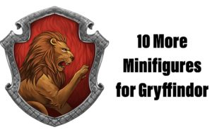 10 More Minifigures for Gryffindor: Make Your Own Hogwarts Students!