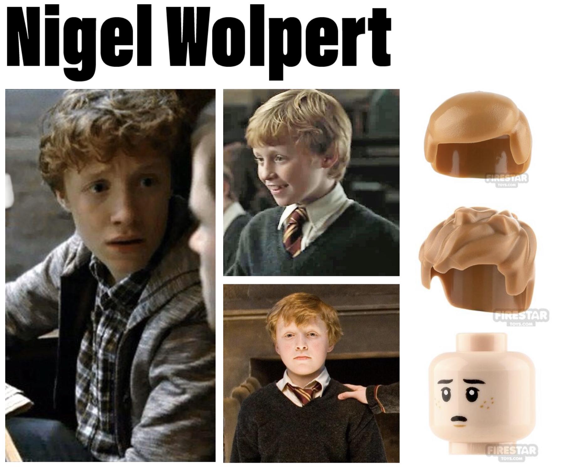 hogwarts minifigures nigel wolpert