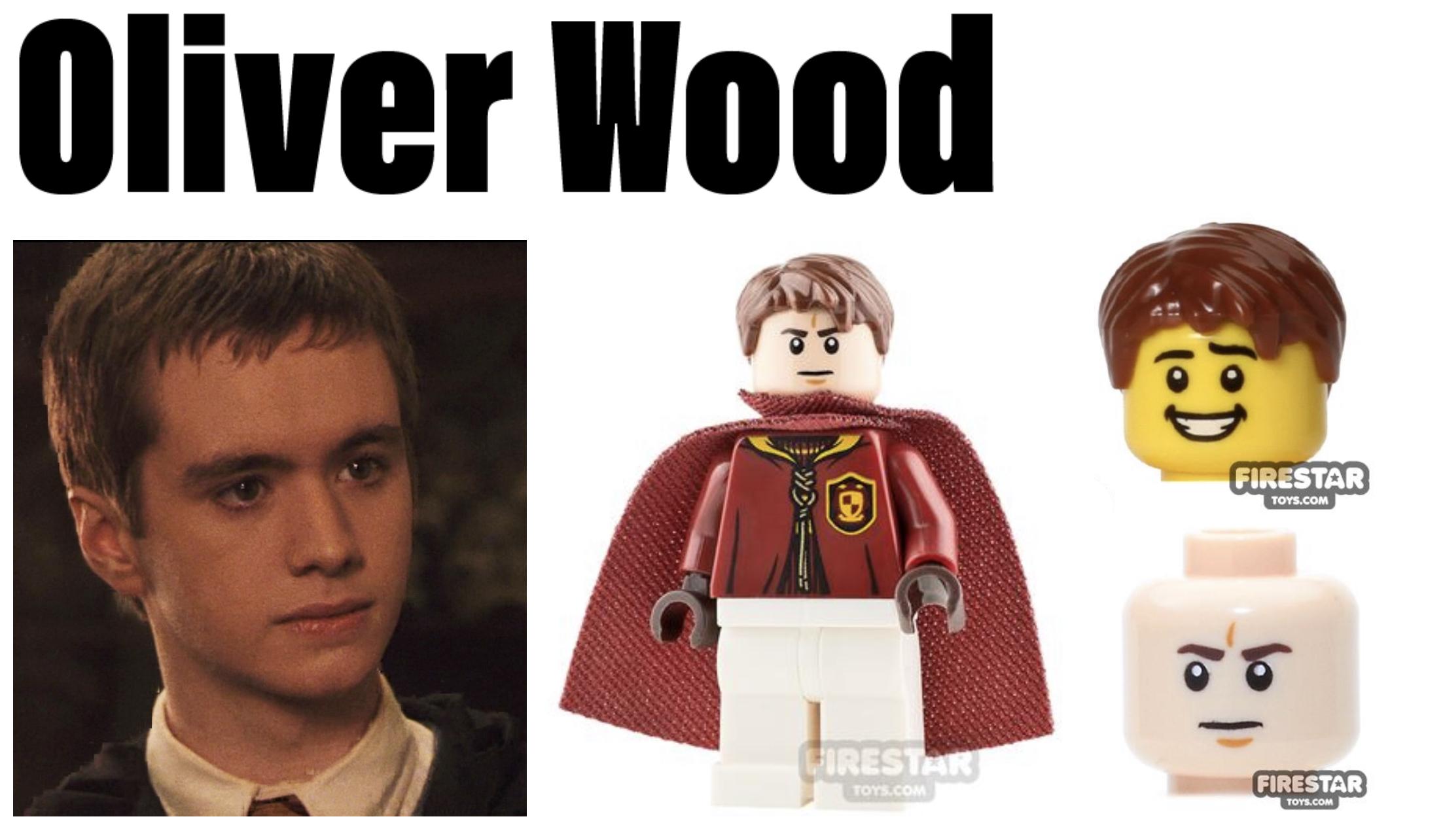 hogwarts minifigures oliver wood