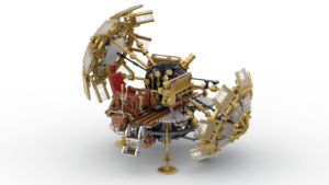 The LEGO Time Machine: A Technic Set in the Making