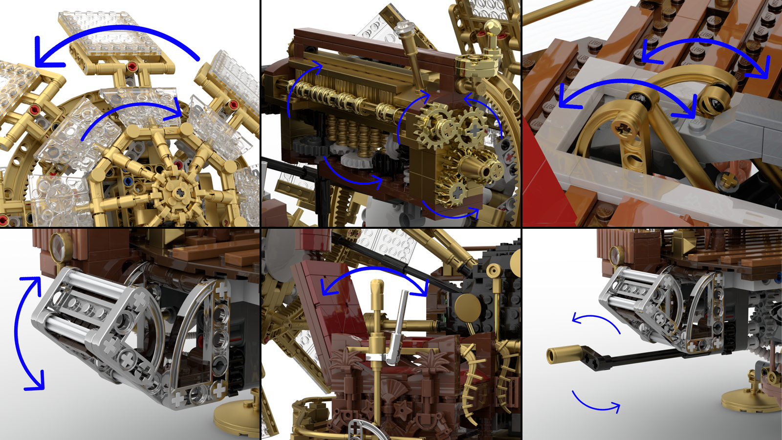 lego time machine details