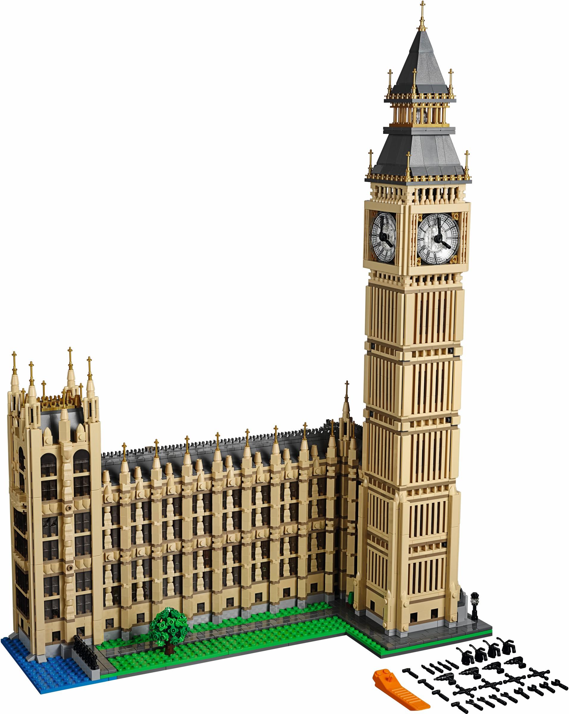 biggest lego sets big ben