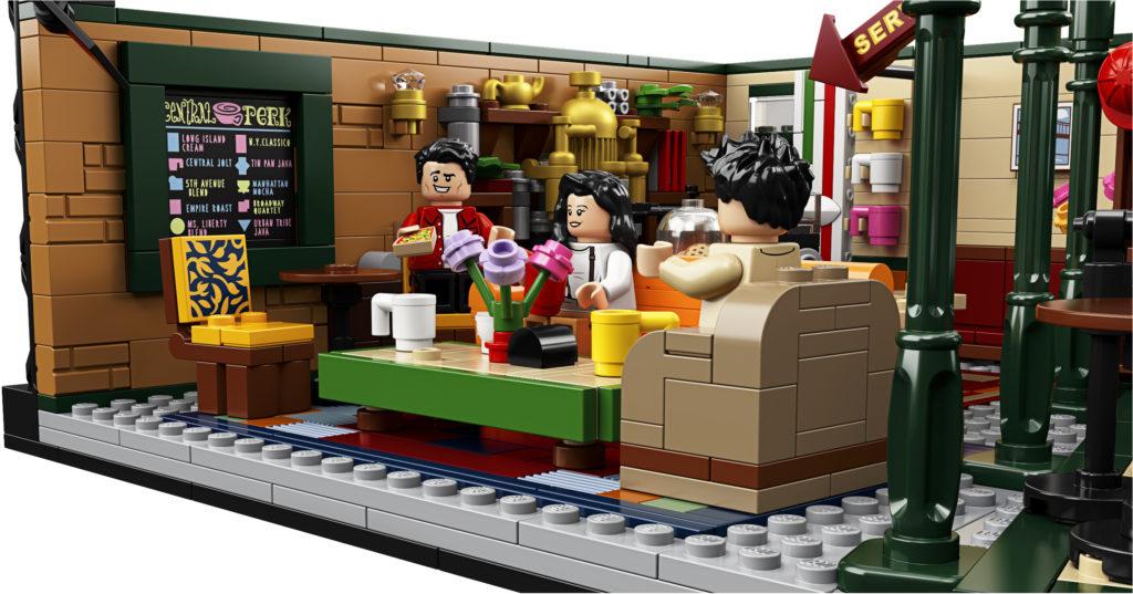 lego modular sets central perk