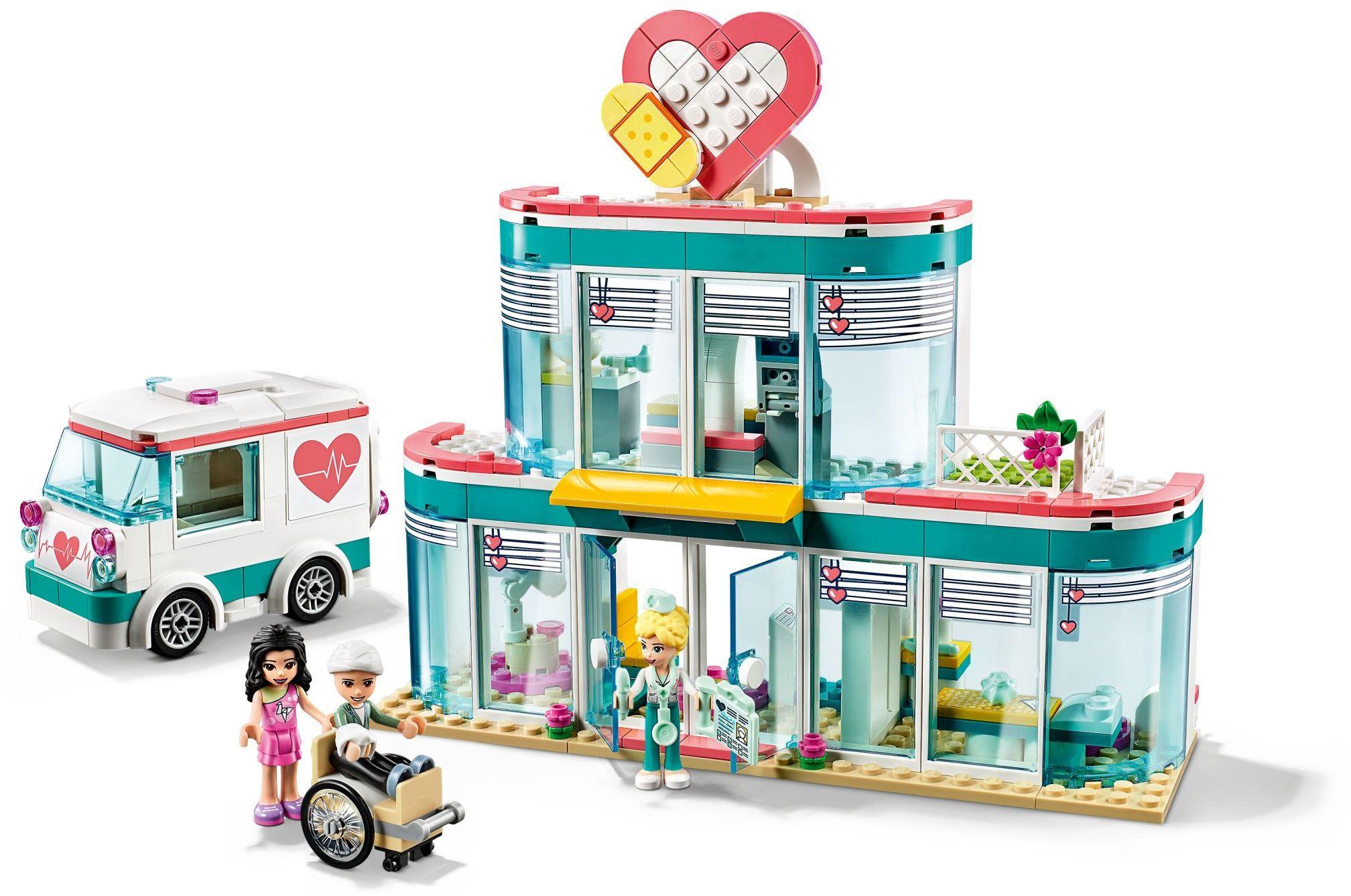 LEGO Real Life Heroes heartlake hospital