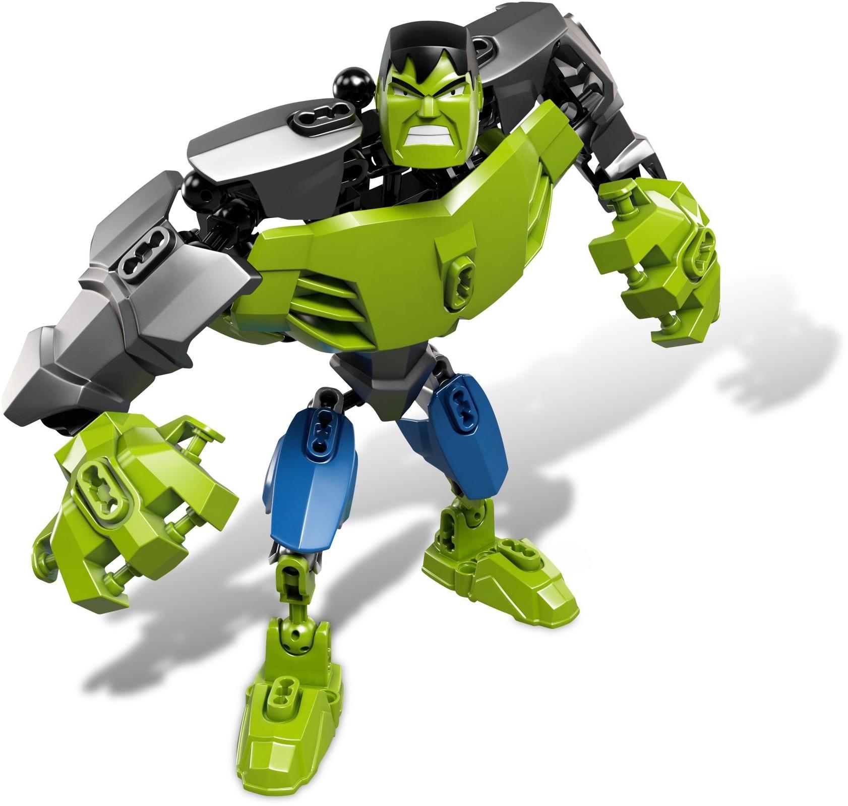 lego marvel 2012 hulk buildable figure