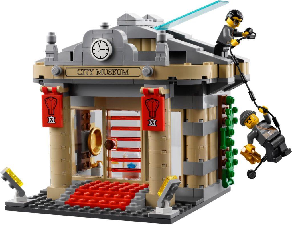 lego modular sets museum